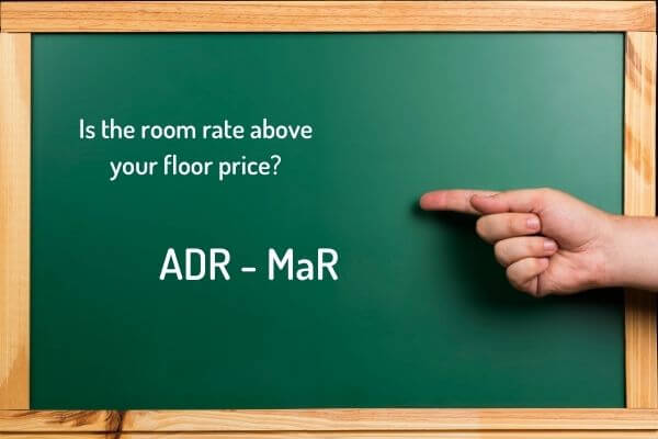 How to calculate the room rate