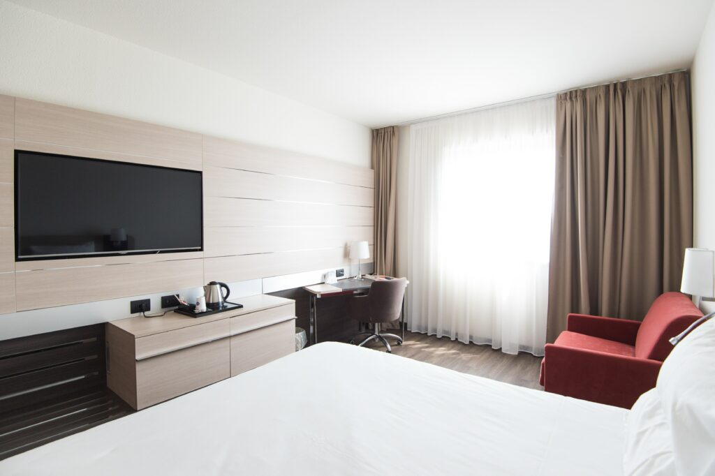 Furnishing for your hotel room